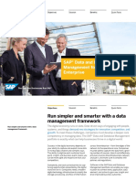 SAP Data and Database Management for the Digital Enterprise