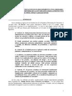 La Citación y La Notificación en El Procedimiento Civil Ordinario a Los Efectos de La Reforma de La Lopna