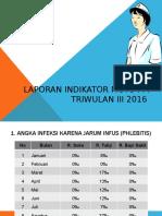 Laporan Mutu Ppi Triwulan III 2016