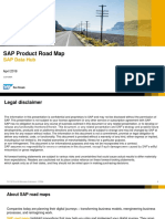 SAP Product Road MapforDataHub