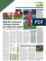 La Provincia Di Cremona 08-02-2019 - Serie B