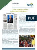 Syunik Ngo Newsletter Issue 31