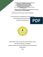 Proposal Sponsor Kkn - Tpa