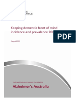 Access Economics - 2009 - Keeping dementia front of mind incidence and prevalence 2009-2050. Final report by Access Economics Pty Limite.pdf