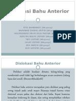 Disklokasi Anterior