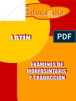 Examenes de Morfosintaxis y Traduccion