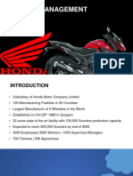 People Management honda hsmi