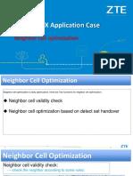 2 NetMAX Application Case-Neighbor Cell Optimization