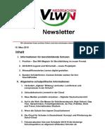 VLWN Newsletter März 2018