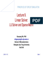 Lect09 Solver LU Sparse