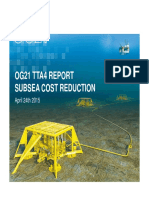 Tta 4 Sub Sea Cost Report