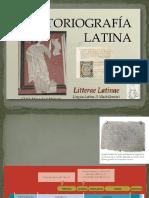 Historiografia Latina 2 Bach