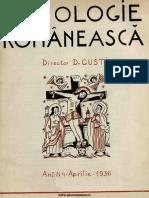 Sociologie românească  Revista Secţiei Sociologice a Institutului Social Român, 01, nr. 04, aprilie 1936.pdf