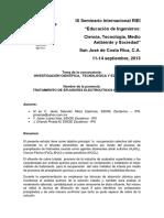 17. Tratamiento de Efluentes Electrolíticos (Jesús Salvador Meza, Javier Juárez, Orlando P)