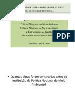 Aulas Política Nacional Do Meio Ambiente