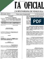 ++Reglamento Nº 1 de la Ley Organica de la Administracion Financiera del Sector Publico, Sobre el Sistema Presupuestario