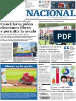 El Nacional, versión digital del viernes 08 de febrero de 2019