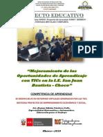 plan de trabajo educación para el trabajo