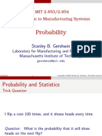 Introduction to manufacturing systems Probability Compact