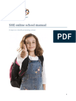 Schools for Health in Europe - online school manual