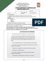 Evaluación 5º Partes de una oración y c. lectora Diferenciada.docx