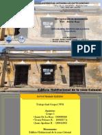Infografia Edificio Zona Colonial