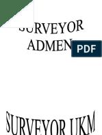 Nama Nama Surveyor