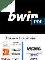 Wim Mathues SBC 2018 Bwin