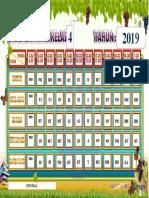 Jadual Waktu Kelas 2019
