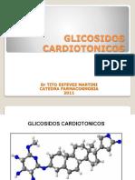 GLICOSIDOS. CARDIOTONICOS