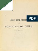 Quinto Censo General Chile