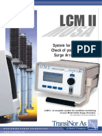 Pocketbook on Condition Monitoring of Lightning Arrester by LCM III