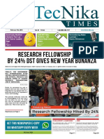 Biotecnika Times Newspaper 5th February 2019