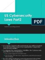 US Cybersecurity Laws Part2