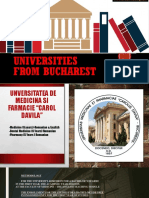 Universities From Bucharest
