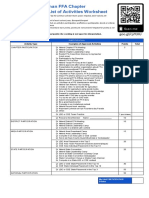 worksheet- point system
