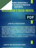 SEXUALIDAD Y SALUD MENTAL