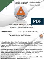EE_Aula nr 1 - Apresentação da Disciplina Economia Empresarial