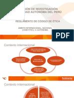 ÉTICA EN LA INVESTIGACIÓN ACTUAL.pptx