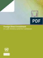 Inversion en Latinoamerica y el Caribe