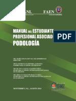 Manual Del Estudiante PODOLOGIA Agosto 2014