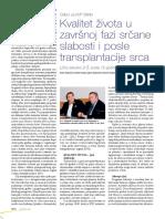 Posle transplantacije srca, NMK - Prof. Dr Dušan Šćepanović