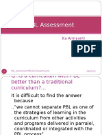 PBL Assessment 2013