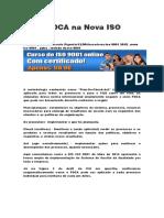Ciclo PDCA Na Nova ISO 9001