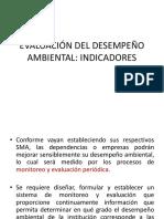 Evaluación Del Desempeño Ambiental