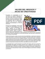 Analisis Del Negocio y La Creatividad (Semana 3)