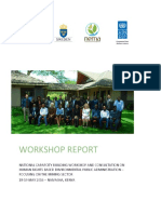 Naivasha Workshop Report