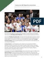 02-02-2019 - Arena Sonora La Nueva Era Del Deporte Sonorense -Mediotiempo.com