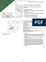 Manual Inspeccion Cantidad Carga Refrigerante Verificacion Conexion Calibre Multiple Inspeccion Fuga Procedimiento