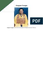 Poemas de Chögyam Trungpa
